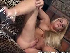 Girls Fuck Eachother brings you a hell of a free porn video where you can see how McKenzee Miles and Heidi Mayne munch their cunts into massively intense orgasms.