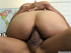 Tommy Gunn loves always wet warm love hole of Victoria Rae Black with big breasts and trimmed muff