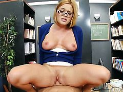 Johnny Sins touches the hottest parts of prettied up Krissy Lynns body before he bangs her mouth