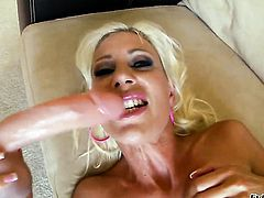 Puma Swede has a lot of sexual energy to spend and does it alone!