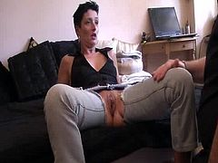 Apprentice wife has A massive coochie fist having sex attack