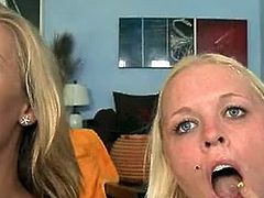 Angel Vain and Nicole aniston swallowing the hawt sperm