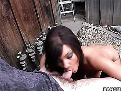 Audrianna Angel with phat bottom and Catalina Taylor fulfill their sexual needs together