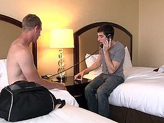 Mike and Johnny had to share the same hotel room. And the moment they met, Mike wants to get a piece of Forza. He pleased him with a nice mouthful blowjob and took it deep in his throat. Let's see, if they engaged into something more hardcore!