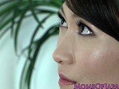 Checkout this sexy and horny Japanese milf in this video.See how this babe strips off her clothes and gets busy with herself in solo.See spreads her legs and plays with her horny pussy.