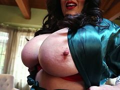 We offer up this surprise Tuesday update here of one of our greatest discoveries ever, the lovely and incomparable 32J Antonella Kahllo not the least of which is her incredibly huge breasts, but she also has a great smile and infectious laugh.
