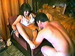 Russian swingers. Amateur VHS tape 90s. Part 5