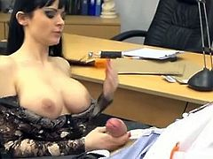 Brunette With Big Tits Works A Big Dick (Danny D.)