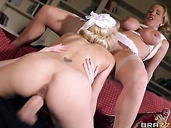 Loulou with gigantic melons has great anal experience and expands it with horny dude Danny D