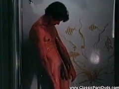 Enjoy sex the way it used to be in this great vintage porn scene from the seventies. Watch this Classic brunette pornstar in some good old fashioned hardcore sex.