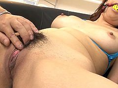 Visit official Japan HD XXX's HomepageSaki Asaoka likes to obey her guy's dirty desires and have him cracking that puffy twat in serious manners during rough oral
