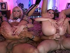 Two couples endlessly fuck and change partners in this awesome foursome collision with these hot bodies in hot sexfest.