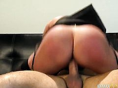 Keiran Lee gets his always hard fuck stick eaten by Breanne Benson with huge hooters