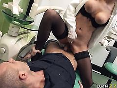 Candy Alexa is in the mood for ass fucking and gives it to hot fuck buddy Mike Angelo