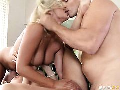 Alena Croft having sensual sex with horny guy Ramon
