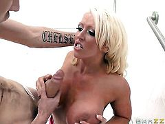 Alura Jenson with phat ass is good on her way to make hard cocked guy Danny D bust a nut