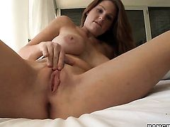 Allison Moore with bubbly ass gets turned on then anally poked