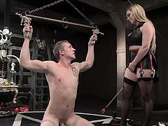 mean mistress does her ritual