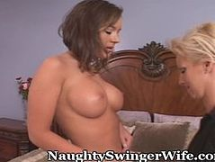 Older Mommy Invites Teen Over For 3-Way Romp