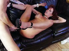 Veronica Avluv loves the way Danny D s pole makes its way deep inside her wet pussy
