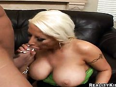 Billy Glide is horny and cant wait any more to screw lustful Candy Mansons mouth