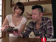 Seira Matsuoka is a petite Japanese super star and she has the abbility to take cock like noone else! She loves it a bit rough and to fully make her day she needs a load of semen in her pussy!