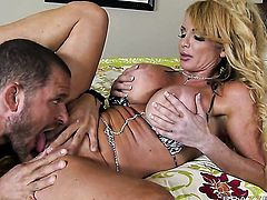 Scott Nails is one hard-dicked dude who loves fucking Taylor Wane with big jugs