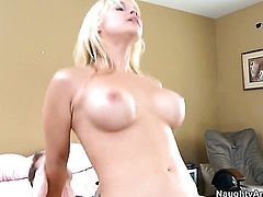Sarah Vandella with huge breasts and Ryan Mclane enjoy fuck session they will never forget