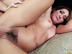 Mischa Brooks finds herself getting anally banged by Manuel Ferrara