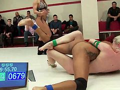 There is nothing more exciting for people than watching a match, where slutty and fiery women fight it out naked on a wrestling ring. You can see their sensual and sexy bodies writhe against each other and their hands, slipping over boobs and asses. Some players also like to take the advantage and make sure they finger the pussy, when no one is watching closely.