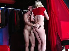 Zoey Paige gets doggystyled by horny dude Johnny Sins
