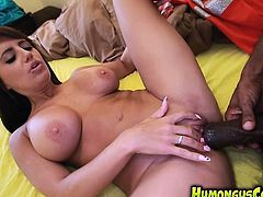 Jacky Wants That Humongus Cock To Penetrate Her Pussy