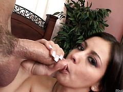 Will Powers cant wait any more to insert his ram rod in bodacious Nikki Vees mouth