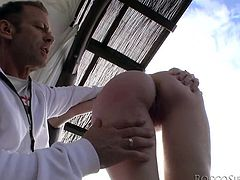 Rocco with his monstrous cock is a sailor, who loves fuck the throat of horny babes like Misha, when they care to give him a blowjob. He also loves her sexy feet and licked them wildly. Misha also gets her ass licked with rimming and they keep playing to arouse more. Let's see how he fucks her tight pussy!