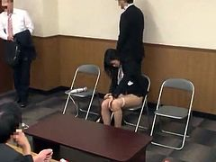 Chinese Office doll has Toyed And shaged At the Meeting