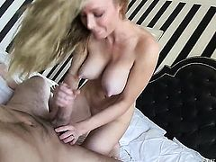 Kayden Kross shows her slutty side to hard dicked fuck buddy Manuel Ferrara in anal porn action