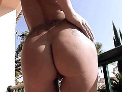 Lulu Martinez with small boobs and clean twat fucks herself with her fingers the way she loves it