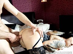Daisy Rock loves going home with sexy boy and fucking them until they cum all over her face