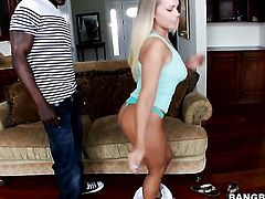 Britney Young with big butt knows that hard sex is the only thing that can make her feel better
