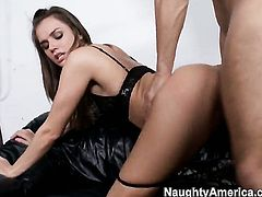 Tori Black cant wait to be fucked by her hot Danny Mountain