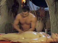 Erotic art film from Asia and India demonstrating us exotic self-massage genital techniques.