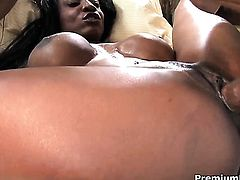 African Diamond Jackson gets pounded to death by hot man