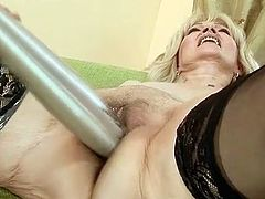 Sleaze fist bonking fucking activity nearly A mature and younger girl. Smut honey inserting hand in the aged pussy! Pussytoying included