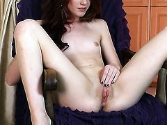 Elle Alexandra enjoying great solo session