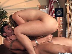 Aubrey Addams gets ruthlessly pounded