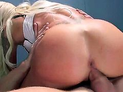 Johnny Sins rams pussy in prison