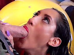 Chloe Amour doesnt even know that not only is she going to get Johnny Sins hard cock in her mouth and cooch but also will get her sweet asshole eaten out.