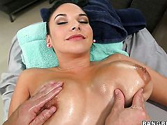 Missy Martinez with big ass gets her muff penetrated with zero mercy by hot guy