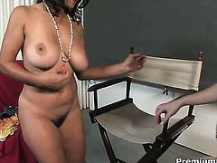 Persia Monir makes her lesbian dreams a come to life with Bonnie Skye