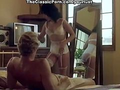 Kristara Barrington, Honey Wilder, Herschel Savage in XXX vintage film